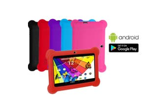 8GB 7 Touch Screen Android 4.4 OS Kid's Tablet with Case