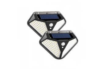 102 LED Solar Motion Sensor Wall Light