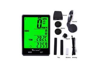 Wireless Waterproof Backlight Bicycle Speedometer Odometer