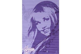 Hannah Montana 100x150cm Purple Area Rug