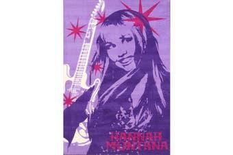Hannah Montana Purple 100x150cm Area Rug
