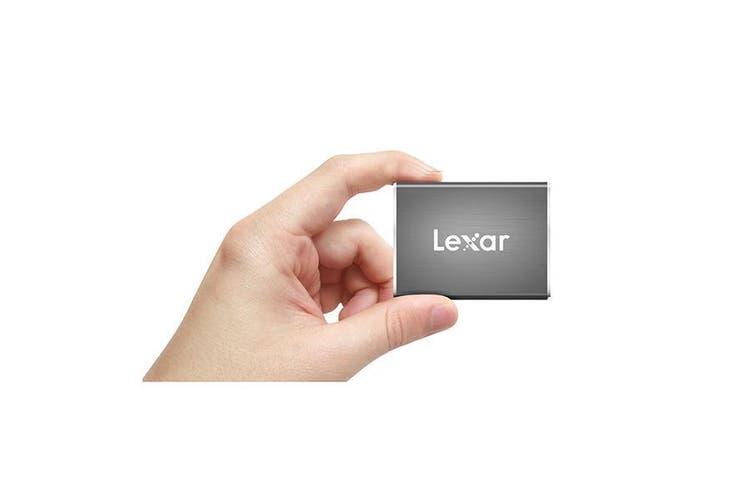 Lexar Sl100 Typec Portable Slim Ssd Sleek Design Durable Datavault - 240 Gb