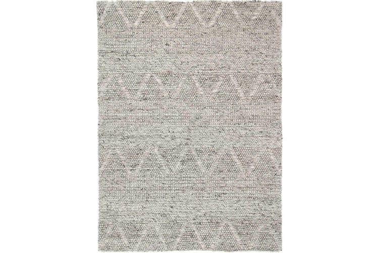 Kaiden 6000 Ash Wool Rug - 80x300 cm
