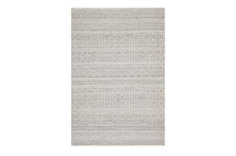 Hudson Natural Modern Hand Loomed Wool Rug