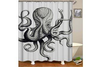 Frightening Octopus Shower Curtain