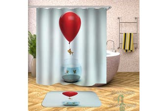 Runaway Fish Shower Curtain