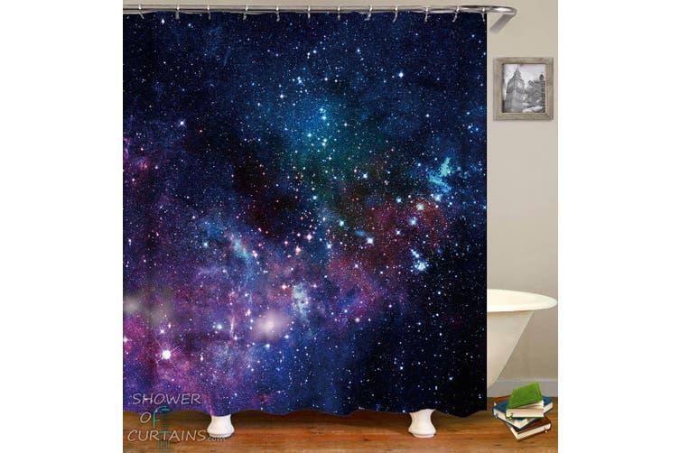 The Space Shower Curtain 72in 72in 180cm 180cm Matt Blatt