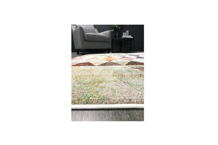 Madison Tribal Diamond Multi Rug - 245x305cm