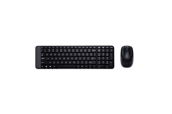 MK220 Wireless Keyboard & Mouse Combo