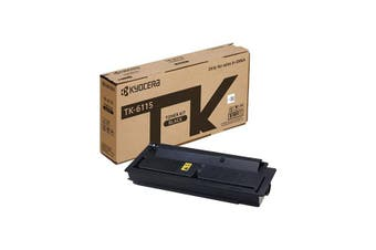 Kyocera Tk 6119 Black Toner Yield 15000 Pages