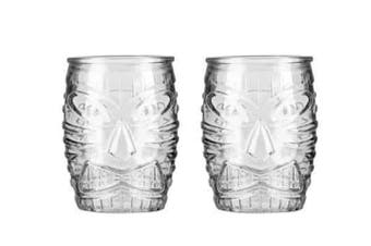 Tiki Double Old Fashioned Glasses – Set of 2