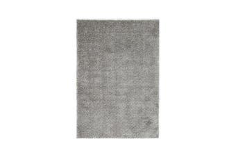 Lumina Shaggy Grey Rug 80 X 200 Cm