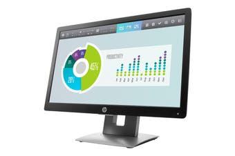 "HP EliteDisplay E202 LED Monitor 20"""
