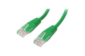 Startech 15M Cat5E Green Molded Cat5E Patch Cable