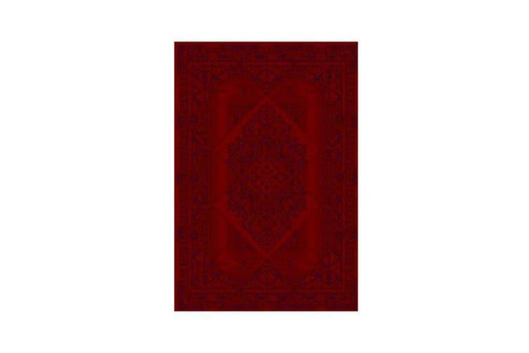 Maori Traditional Red Rug