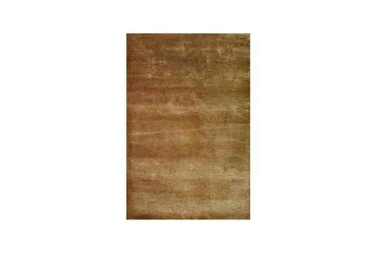 Metallic Gold Digger Wool Rug - 190 x 280 cm