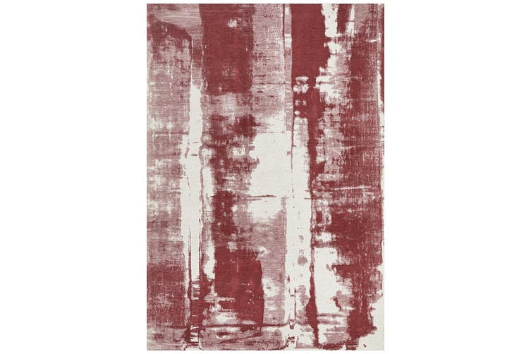 Magnolia Abstract Rose Rug - 280X190CM