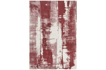 Magnolia Abstract Rose Rug