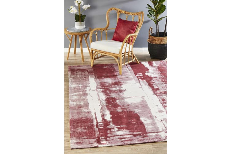Magnolia Abstract Rose Rug - 400X300CM