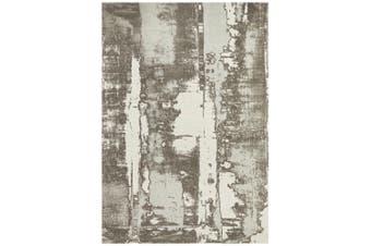 Magnolia Abstract Silver Rug - 320X230CM
