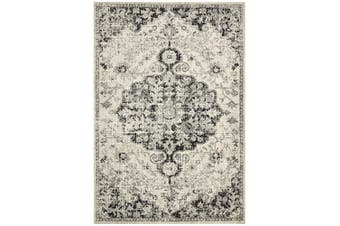 Museum Transitional Charcoal Rug - 300X80CM