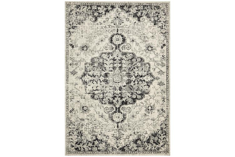 Museum Transitional Charcoal Rug - 500X80CM