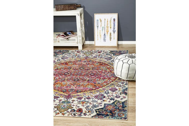 Museum Shelly Rust Rug - 290X200CM