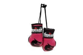 Morgan Rear View Mirror Gloves Pair - Pink
