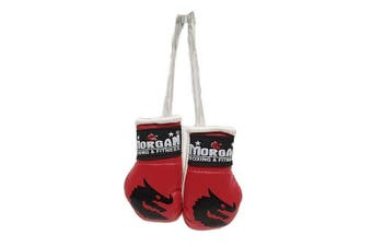 Morgan Rear View Mirror Gloves Pair - Red