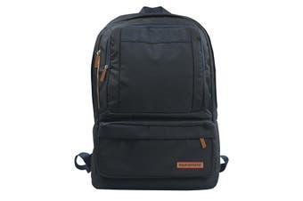 Promate Drake Premium Backpack With Multiple Storage Black