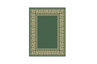 Natura Green Polypropylene Rug