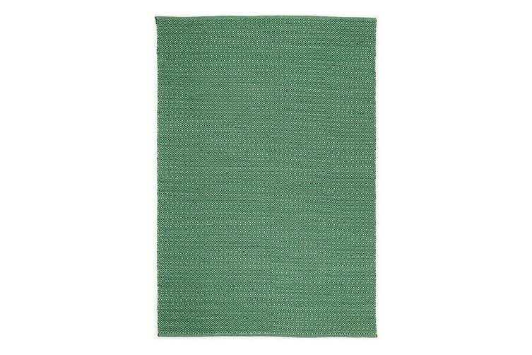 Natura Wool Green Diamond Rug - 120x170 cm