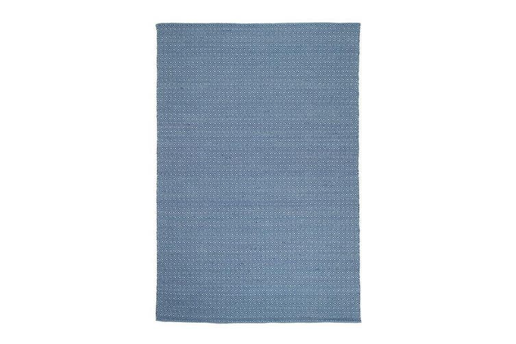 Natura Wool Blue Diamond Rug - 120x170 cm