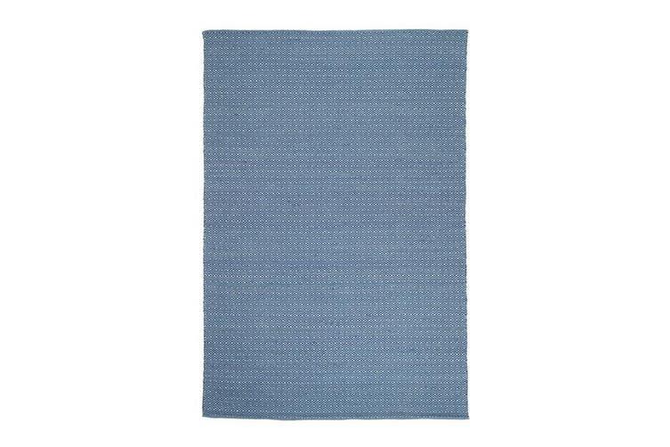 Natura Wool Blue Diamond Rug - 160x230 cm