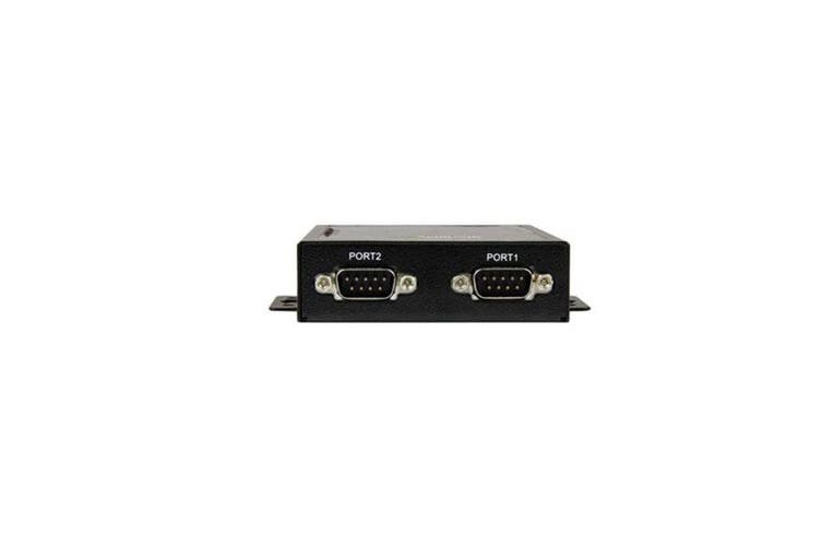 Startech 2 Port Serial To Ip Ethernet Device Server Rs232