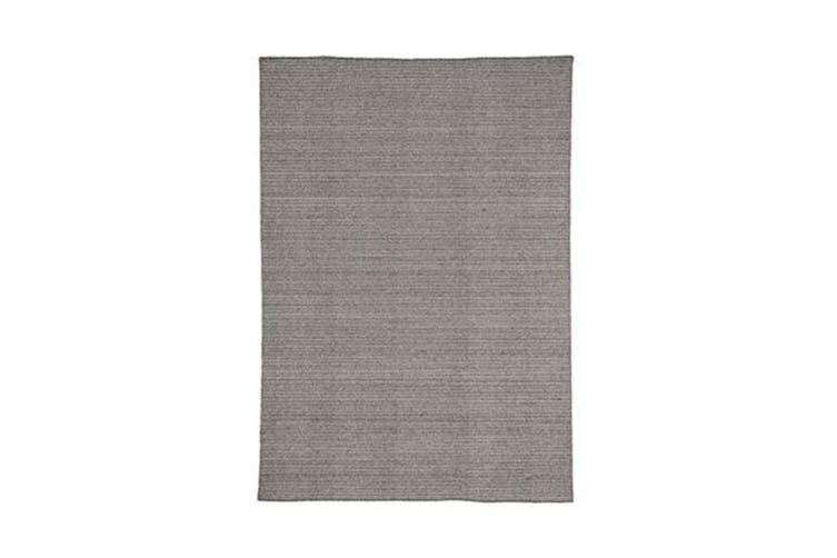 Norge Grey Wool Rug - 75 x 120 cm