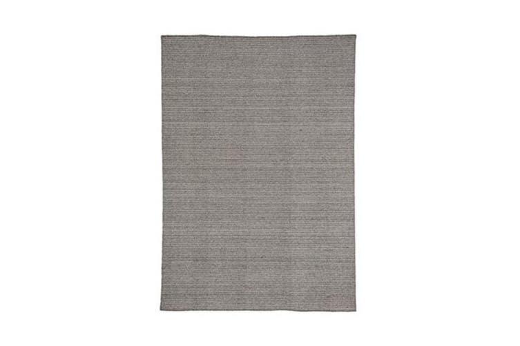 Norge Grey Wool Rug - 200 x 280 cm