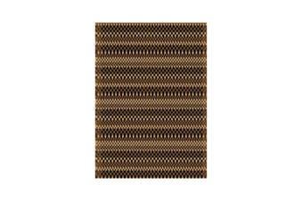 Outdoor Strips Etnic Rug - 80 x 400 cm