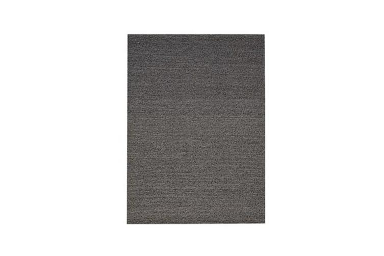 Pebble Grey Wool Rug - 170 x 230 cm