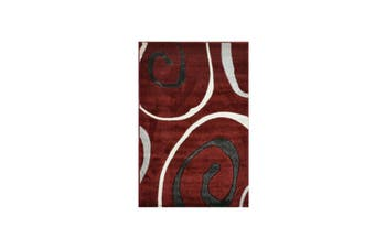 Picasso Red Trendy Rug - 80 x 400 cm