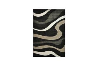 Picasso Dark Brown Trendy Rug - 120 x 170 cm