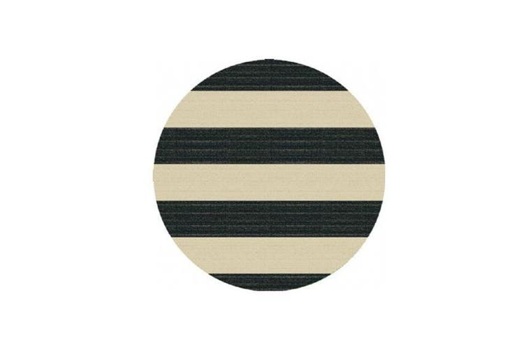 Picasso Stripes B And W Rug