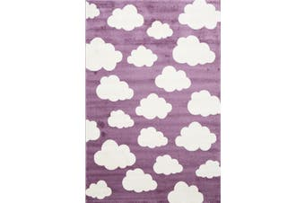 Cloud Pink White Rug - 160x230