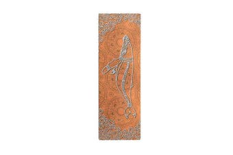 Saltwater Life Aboriginal Design Yoga Mat Eco Rubber Orange