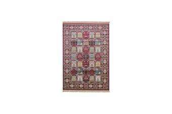 Royal Palace Red Art Silk Rug
