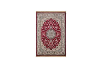 Royal Palace Red Traditional Rug - 67 x 210 cm