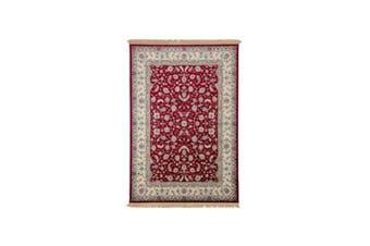 Royal Palace Red Silk Rug - 135 x 195 cm