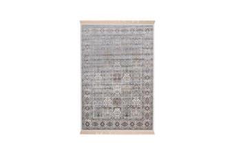 Royal Palace Grey Silk Rug - 195 x 300 cm
