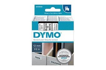 Dymo D1 Blk On Wht 12 Mm x 7 M Tape