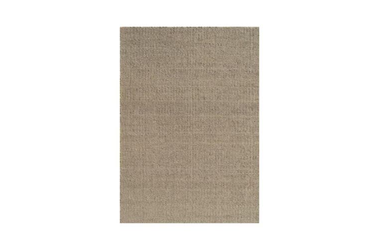 Saga Beige Wool Rug - 160 x 230 cm